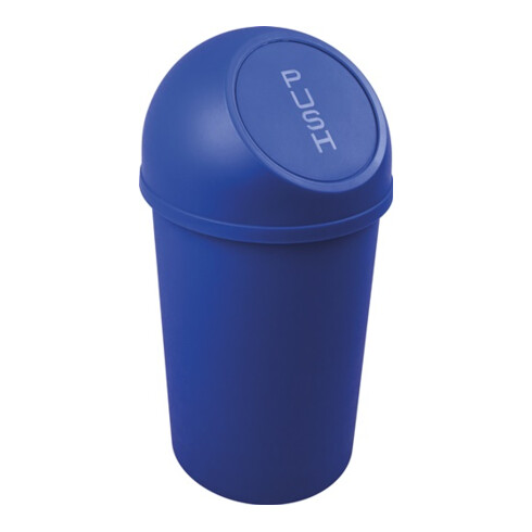 Abfallbehälter H490xØ253mm 13l blau HELIT
