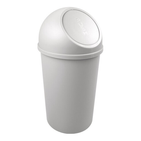 Abfallbehälter H615xØ312mm 25l lichtgrau HELIT