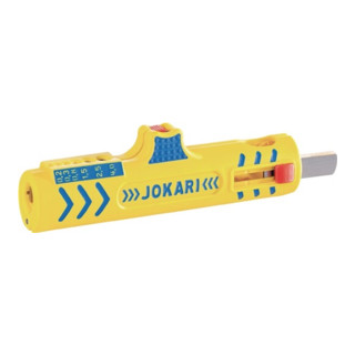 Abisoliermesser Nr.15 Secura Kabel-D.8-13mm Litzen-D.0,2-4,0mm Jokari