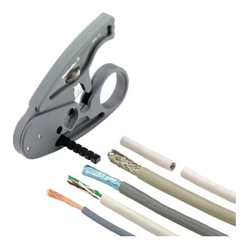 Abmantelungswerkzeug AM 12 L.97mm Arbeitsb.D.0,5–12,5mm CU b.4 mm² WEIDMÜLLER