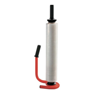 Abroller f.Stretcholie Breite 450/500mm 1,3kg Stahlrohrausfuehrung ergonomisch