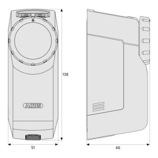 ABUS Funk-Türschlossantrieb HomeTec Pro CFA3000S