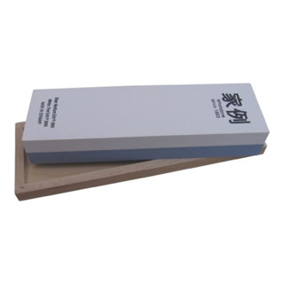 Abziehstein 200x60x30mm f. gr. Werkzeuge im Holzkasten japanische Art MÜLLER