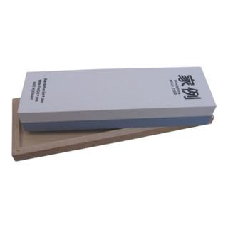 Abziehstein L200xB60xH30mm 400/1000 im Holzkasten MÜLLER