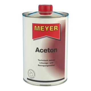 Aceton 1l Flasche z.Entfetten z.Kleben v.Ku.