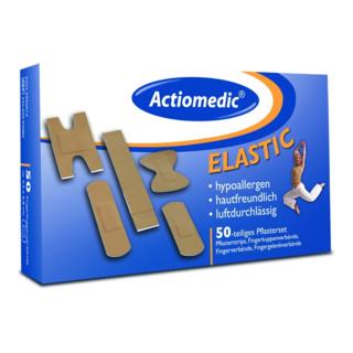 "Actiomedic elastic Pflaster-Set Spezialverbände "" 50-tlg."""