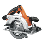 AEG Akku-Handkreissäge BKS18-0 18V Solo-Version inkl. Ø 165mm 18-Zahn HM-Sägeblatt, Parallelanschlag im Karton