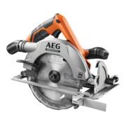 AEG Brushless Akku-Handkreissäge BKS18BL-0 18V Solo-Version inkl. Ø 190mm 24-Zahn HM-Sägeblatt, Parallelanschlag im Karton