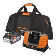 AEG Starterset SETL1840BL inkl. 1x 4,0 Ah PRO Akku, Ladegerät in Werkzeugtasche