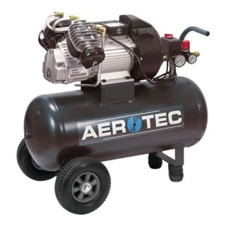 Aerotec Kompressor 400-5, 390L/250L/10bar/50L/2,2KW/fahrbar/230V