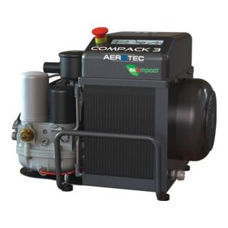 Aerotec Schraubenkompressor COMPACK 3 10bar 360l/min 3 kW