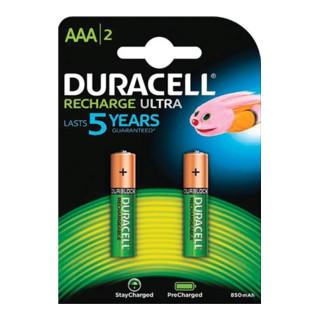 Akku Duracell Micro AAA HR03 800mAh, 2 Stück/ Pack
