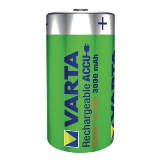 Akkuzelle 1,2 V 3000 mAh R14-C-Baby HR14 2 2St./Blister VARTA