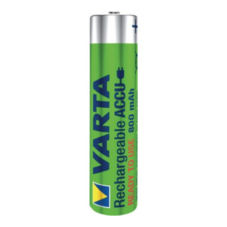 Akkuzelle 1,2 V 800 mAh R03-AAA-Micro HR03 2 2St./Blister VARTA