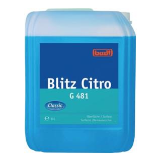 Alkoholreiniger Blitz Citro G 481 10l Kanister BUZIL