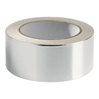 Aluminiumklebeband 511 DIN 4102 B1 Länge 50m Breite 50mm Alu-Folie