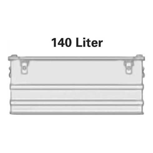 Alutec Aluminiumbox 140l 902x495x379mm m.Gummidichtung 8,0kg m.Stapelecken