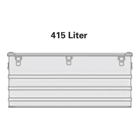Alutec Aluminiumbox 415l 1192x790x517mm m.Gummidichtung 16,0kg m.Stapelecken
