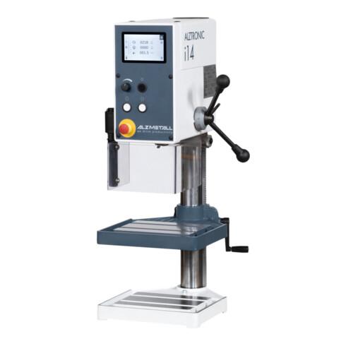 Alzmetall Tischbohrmaschine ALZTRONIC i14 mm mit Drehzahleingabe