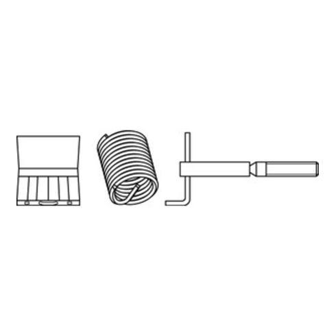 Amecoil MINIKIT Gewindeeinsätze Typ SR mit Zubehör