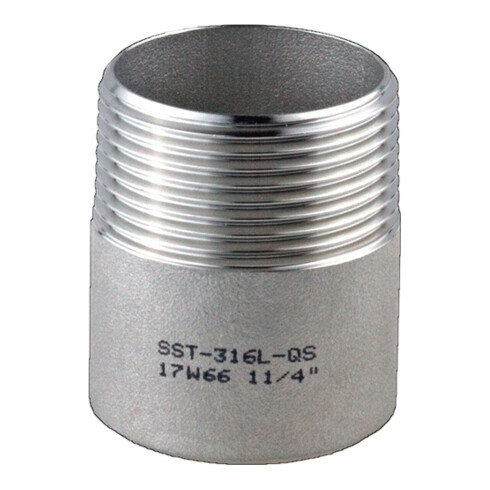 Anschweißnippel EN 10226-1 NPS 1/8 Zoll 30mm SPRINGER