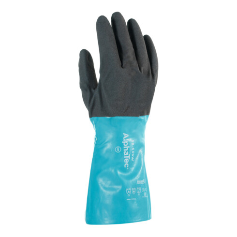 Ansell Chemikalienschutz-Handschuh-Paar AlphaTec 58-535W, Handschuhgröße: 9