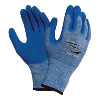 Ansell Handschuhe EN388 Kat.II HyFlex 11-920 Gr.9 Nylon m.Nitril blau