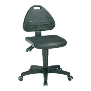 Arbeitsdrehstuhl Isitec m.Rollen Integralschaum Sitz-H.430-600mm BIMOS