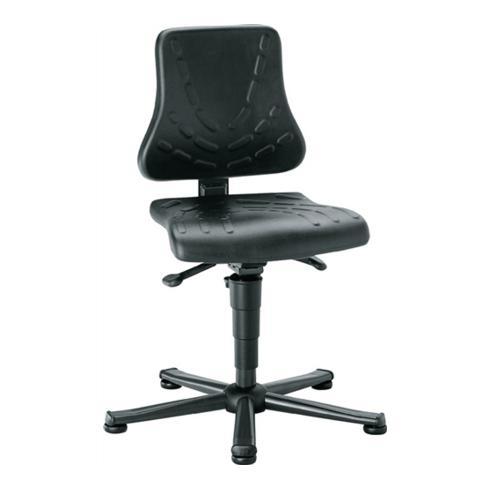Arbeitsdrehstuhl Solitec m.Gleitern Integralschaum Sitz-H.440-590mm BIMOS