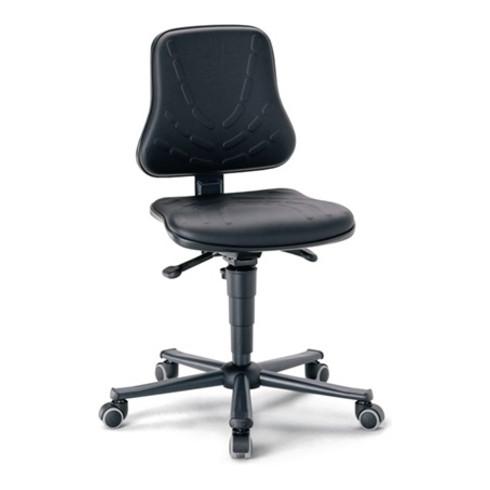 Arbeitsdrehstuhl Solitec m.Rollen Kunstleder Sitz-H.440-590mm BIMOS