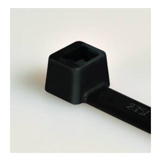 PA 6.6 W 3,5 x 150/ 35 Kabelbinder, schwarz, T 30R-W S