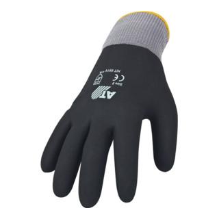 Asatex Handschuh HitFlex V Gr. 9 Nitril vollbeschichtet EN 388 Kat. II, schwarz