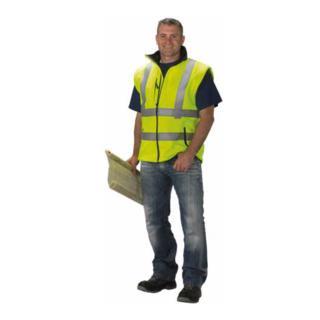 Asatex Softshell-Warnschutzjacke gelb
