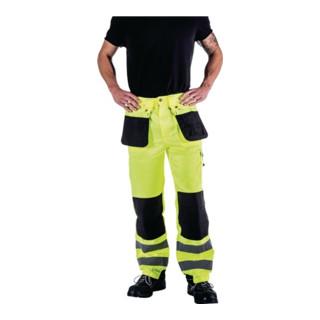 Asatex Warnschutz-Bundhose EN471 Kl. II gelb/schwarz