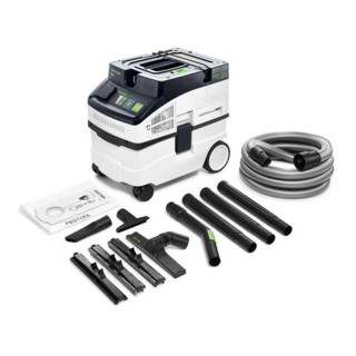 Aspirateur mobile Festool CT 15 E-Set CLEANTEC