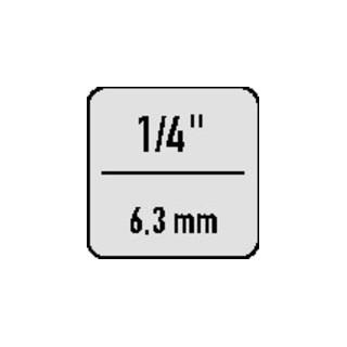 ASW Gummisicherungsring D.11mm f.1/4Zoll