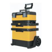 Atelier roulant B568xP389xH730mm plastique et métal boîte à outils amovible STAN