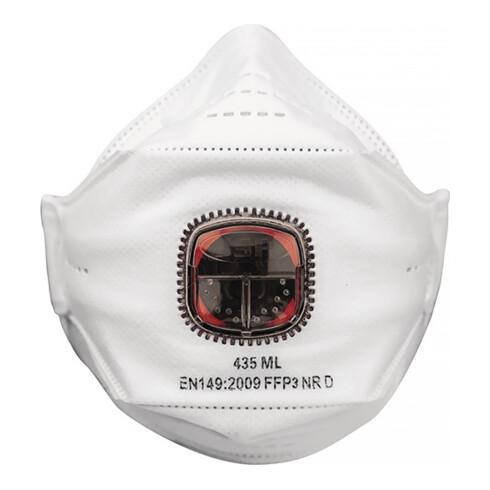 Atemschutzmaske Springfit™ 435 FFP3/V NR m.Ausatemventil JSP