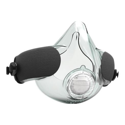 ATEX Halbmaske PAF-0064 EN 12942 m.Ausatemventil,o.Filter kl.CLEANSPACE