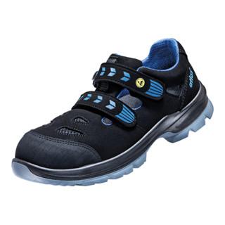 Atlas Sicherheitssandale alu-tec 360 ESD S1 C schwarz/blau Schuhweite 12