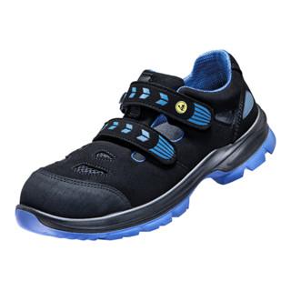 Atlas Sicherheitssandale SL 46 ESD S1 A schwarz/blau Schuhweite 10