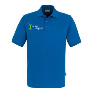 Atlas Sportline Polo-Shirt Herren royalblau