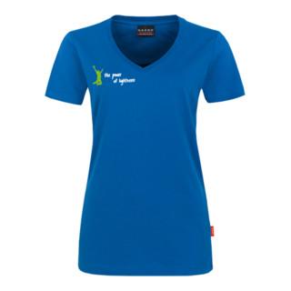 Atlas Sportline T-Shirt Damen royalblau
