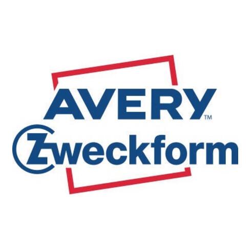 Avery Zweckform Versandetiketten TD8050-25 ws 475 St 2 Ro./Pack.