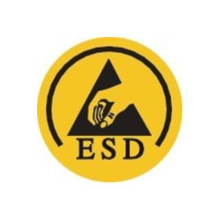 Baak Sicherheitsschuh Chris Gr.45 schwarz/blau Textil S1P SRC ESD EN20345
