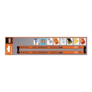 Bahco Metallsägeblatt HSS-Bi-Metall 300mm 24 Zähne Pack m.2 Stück Bahco 3906-300-24-2P