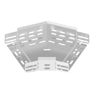 Baks Winkel für Kabelrinne Blechstärke 1 mm Seitenhöhe 60 mm 45°