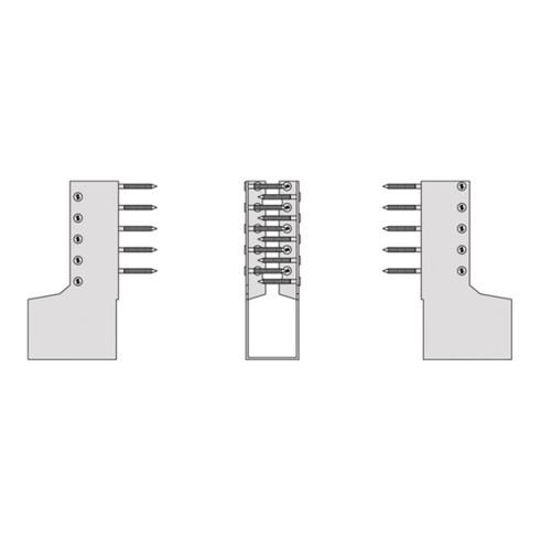 Balkenschuh BSI100/140-B 2mm STA TZN