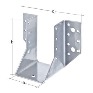 Balkenschuh Typ A 100x140mm sendzimirverzinkt