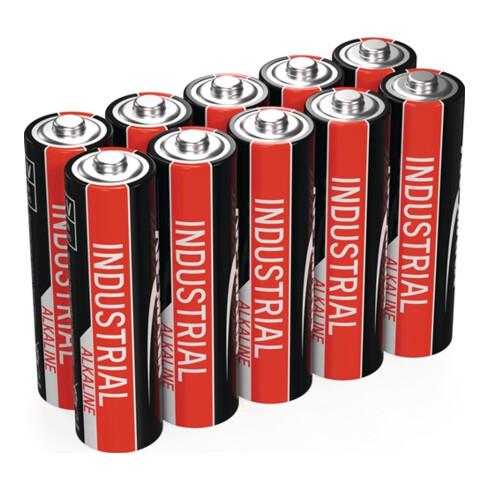 Batterie 1,5 V AA Mignon 2700 mAh LR6 4006 10 St./Krt.ANSMANN